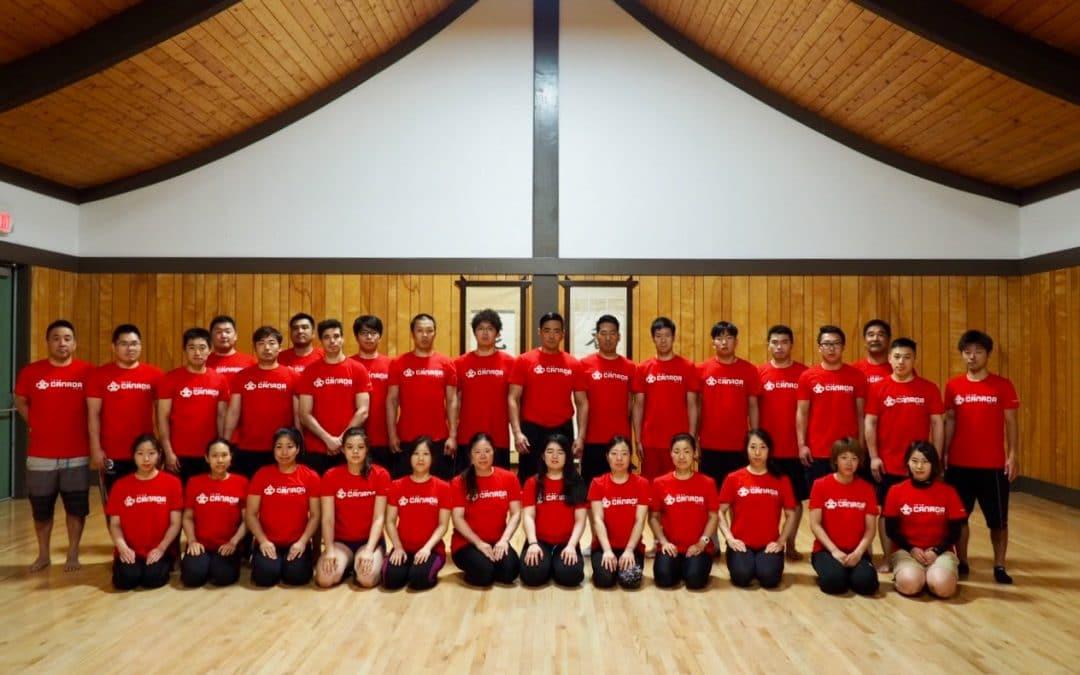 Team Canada Open Shiai Practice